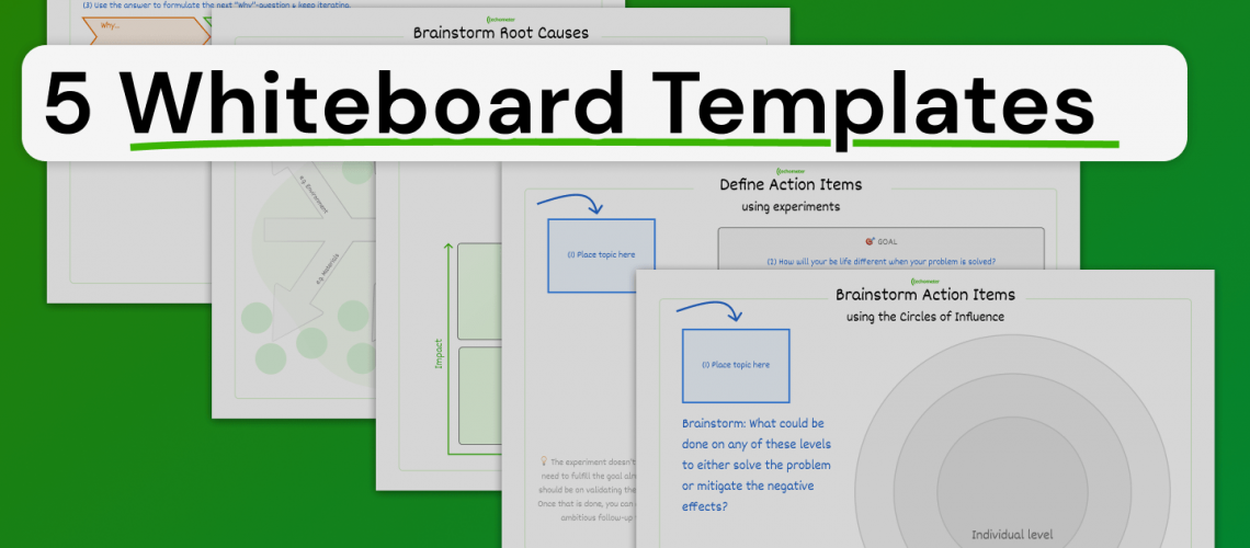 5 whiteboard templates